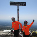 Don and Jean top out on Ventoux.