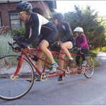 Carlos, Sophia, and SydneyBlu Garcia racing the Cascadille Hill Climb in Ithaca, NY