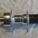 Phil Wood 145 mm Tandem Hub, 36 Hole with Disc Rotor Flange, QR