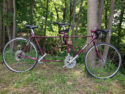 Custom Made Vintage MOOTS Tandem Bicycle