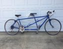 Burley Duet 1991, size center to top 20.5/18.5. Type - Tour, Sport, Racing. Color - Very Blue.