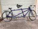 Purple Santana Sovereign Tandem Bike